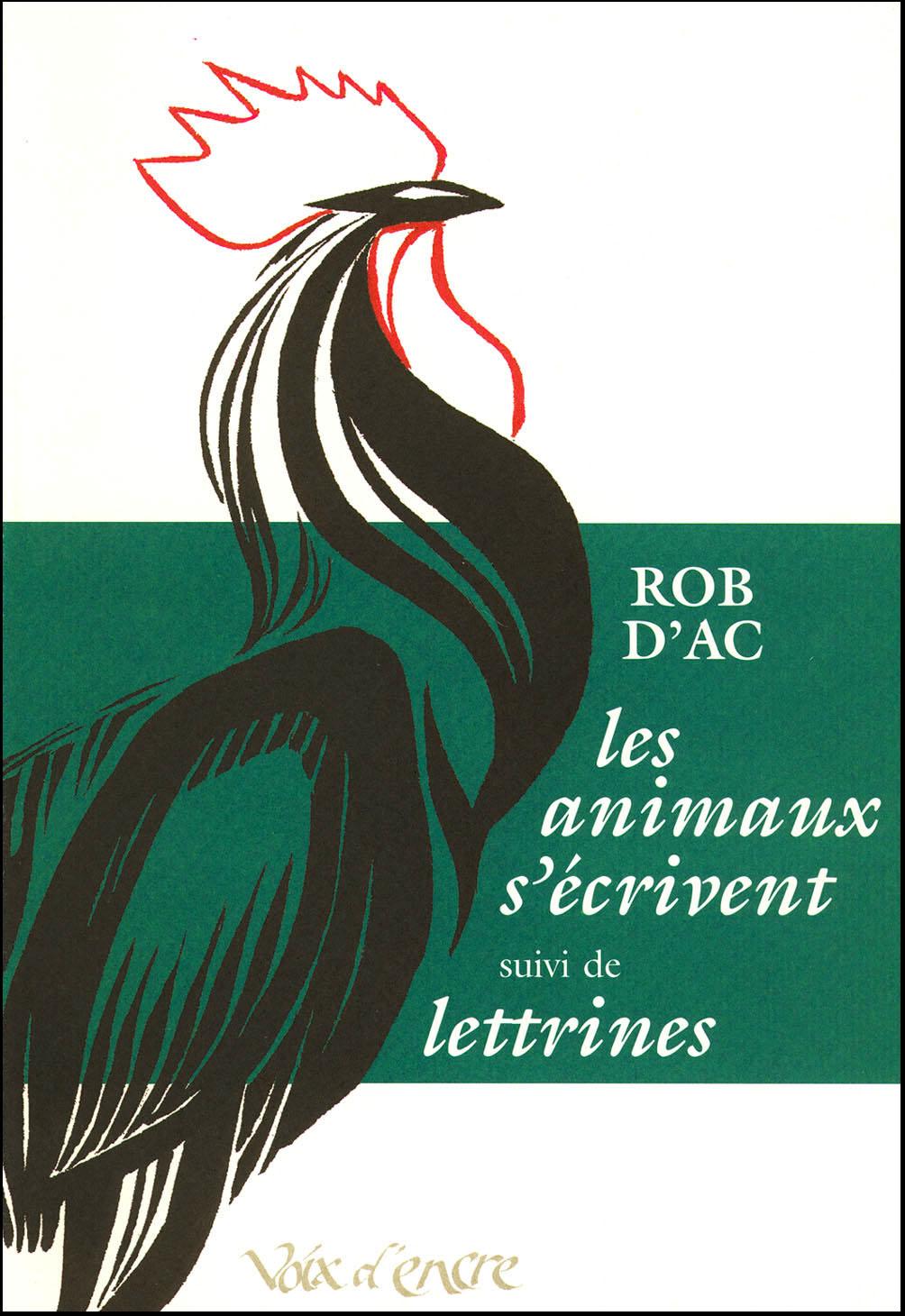 Les animaux s'écrivent, suivi de Lettrines - 1