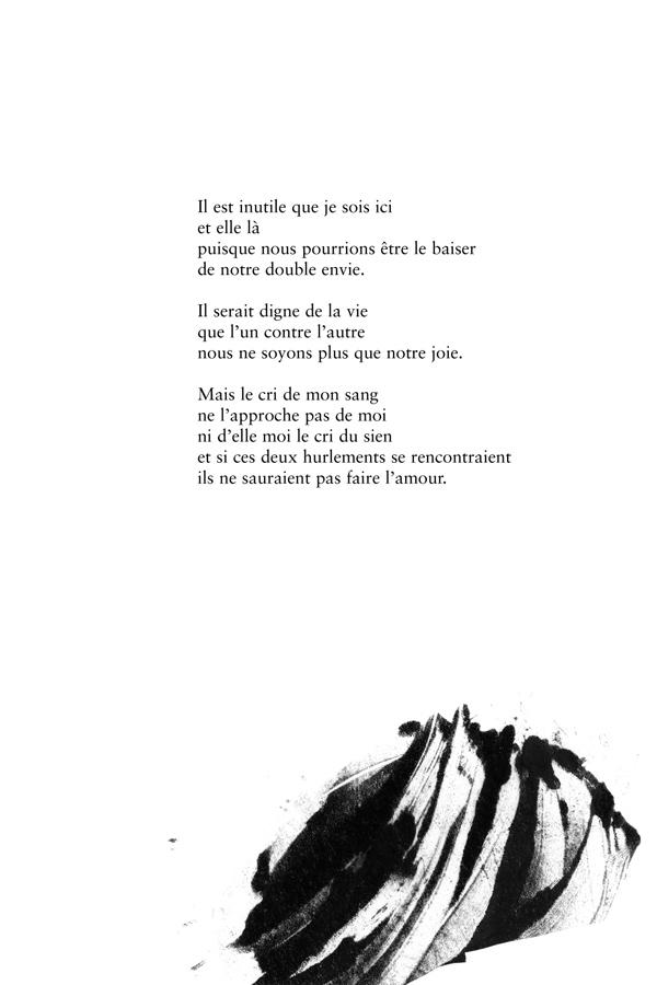 Un brasier de mots, poèmes inédits - 2