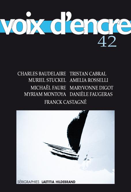 revue Voix d'encre, numéro 42 - 1