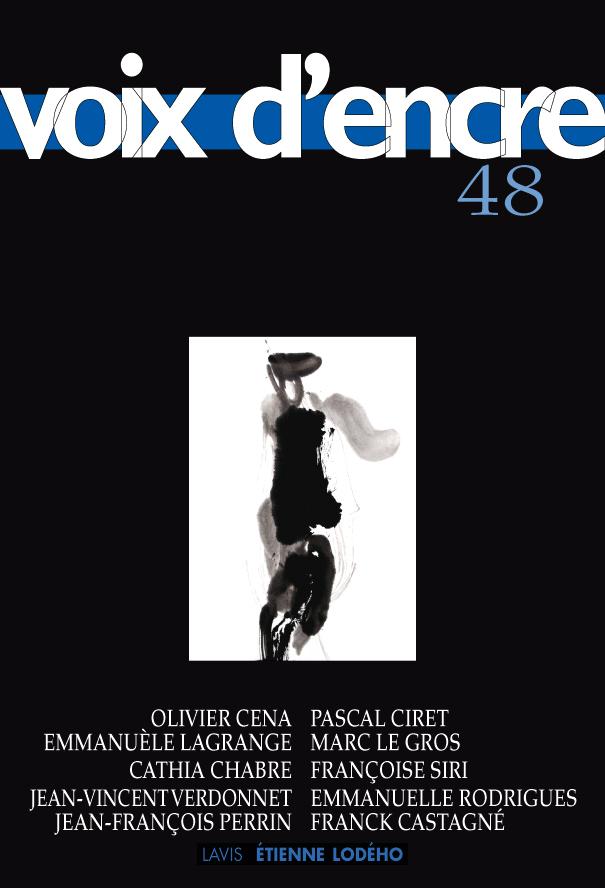 revue Voix d'encre, numéro 48