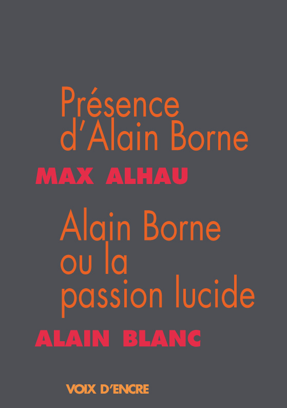 Présence d'Alain Borne - 1