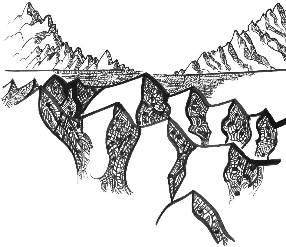 Le dessin des montagnes, et autres textes itinérants - 3