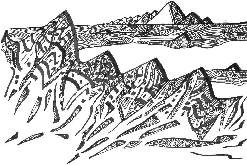 Le dessin des montagnes, et autres textes itinérants - 4