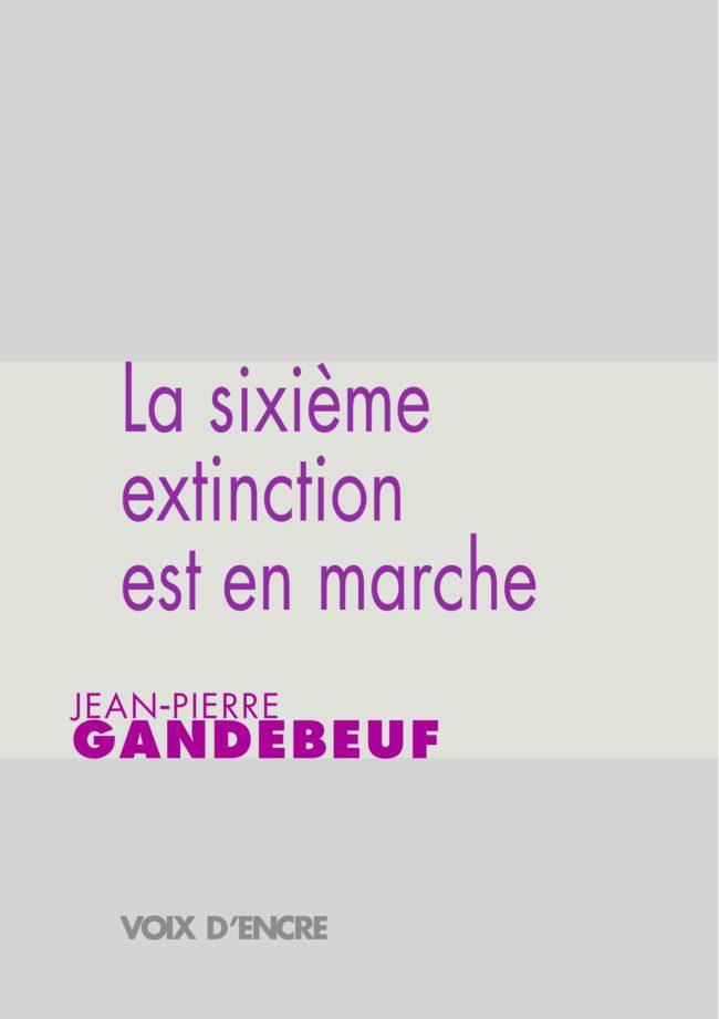 La sixième extinction est en marche - 1
